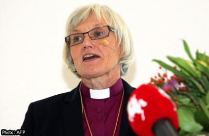 The Bishop of Lund, Antje Jackelen
